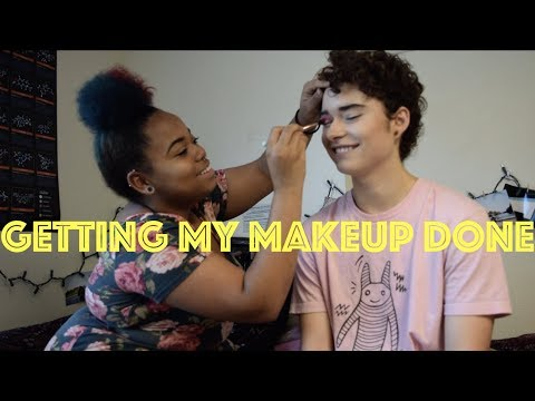Getting My Makeup Done & Would You Rather