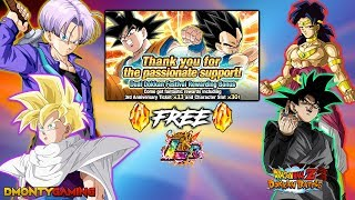 DOKKAN GAVE ME A FREE LR!? | TOP US GROSSING REWARDS OUT! FOR USA!! | DRAGON BALL Z DOKKAN BATTLE