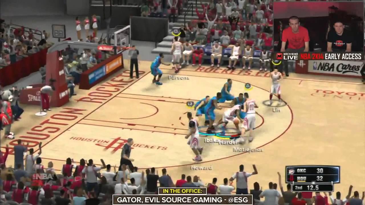 157d0137e52 NBA 2K14 - THUNDER VS ROCKETS - XBOX ONE - FULL GAME - …