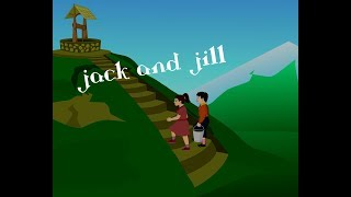 Jack And Jill Animation Song With Full Lyrics-Children's Popular Nursery Rhymes