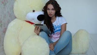 Большой плюшевый медведь Тихон 170 см белый(, 2014-11-16T21:10:53.000Z)