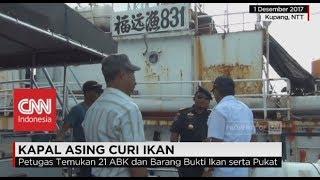 Kapal Asing Asal Tiongkok Tertangkap Curi Ikan