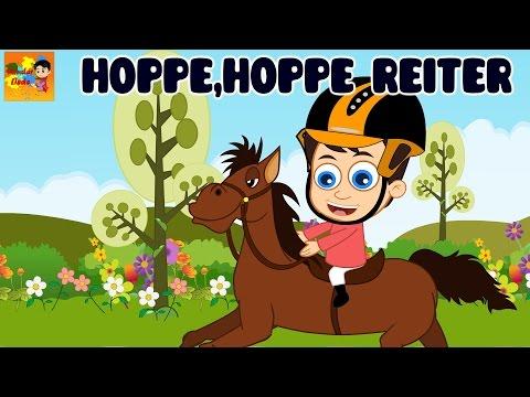 Hoppe, hoppe Reiter + 35 min deutsche Kinderlieder | Kinderlieder zum Mitsingen
