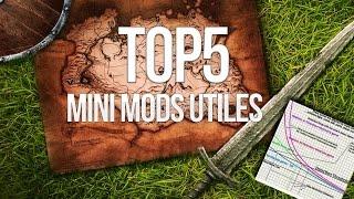 TOP 5 MODS Utiles - Skyrim (PS4/Xbox/PC)