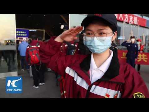 Until We Meet Again- Medical Assistance Teams Start Leaving Wuhan