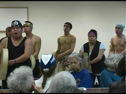 Tlingit Drumline