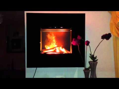 elektrischer wandkamin von kamin design ingolstadt youtube. Black Bedroom Furniture Sets. Home Design Ideas
