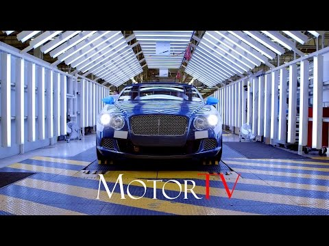 CAR FACTORY : 2016 BENTLEY CONTINENTAL GT PRODUCTION l Assembly Line l Crewe Plant (UK)