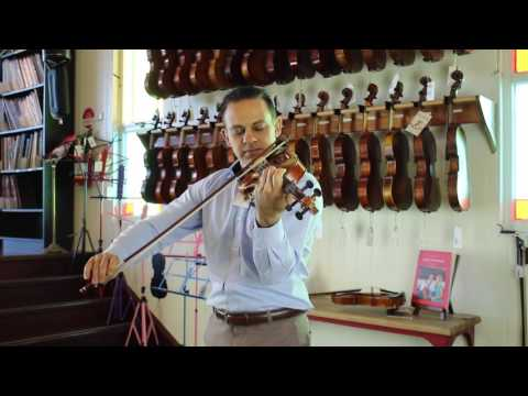 Jay Haide Guarneri Violin Demonstration | Simply For Strings
