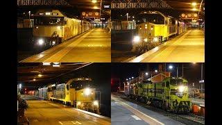Gambar cover Overnight grain trains at Bendigo & Kangaroo Flat- 23rd & 24th August 2017