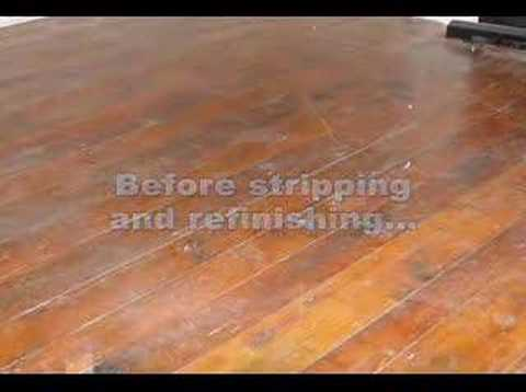 Interior Wood Floor Stripping Sanding Refinishing Youtube