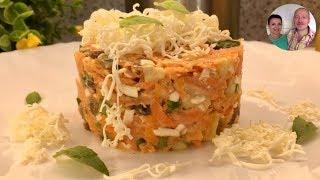 Вкуснейший витаминный салатик!  The best fitness salad!
