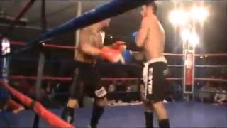 Fighter Knocks Himself Out!!!