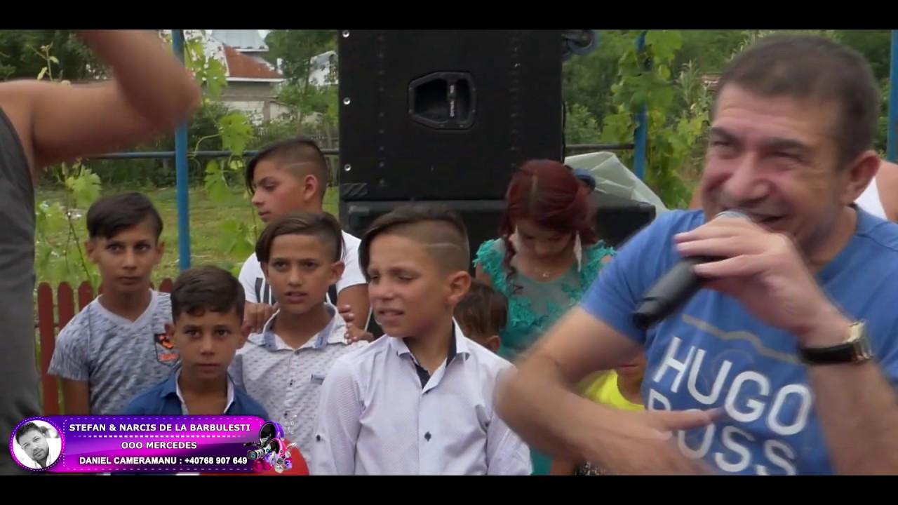 Stefan & Narcis de la Barbulesti - Ooo MERCEDES NEW LIVE(la Nunta Maradona & Jesica la Slati