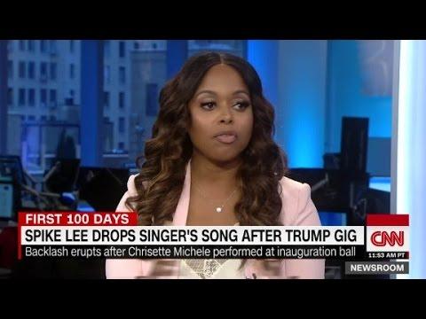 Chrisette Michele on inauguration backlash