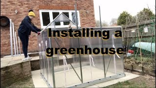 Installing a Greenhouse in your Garden  Palram Mythos