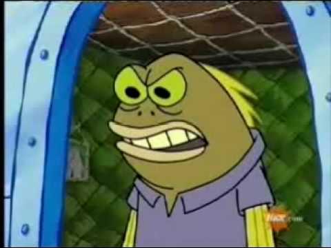 YOUTUBE POOP: Spongebob sells clit!