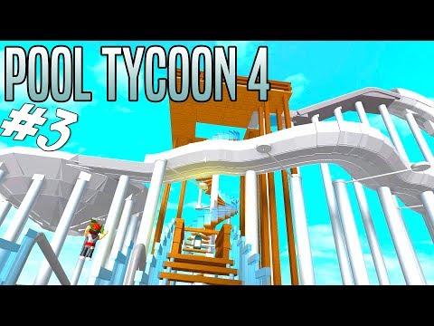 STOR VANDRUTSEBANE! - Roblox Pool Tycoon 4 Dansk Ep 3