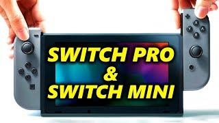 TWO NEW Nintendo SWITCH Models ?! Switch Pro & Switch Mini ?!