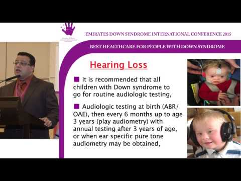 EDSIC 2015 Ear Disorders In Down syndrome Arts of Diganosis and management