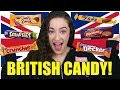 TRYING BRITISH CANDY & SNACKS
