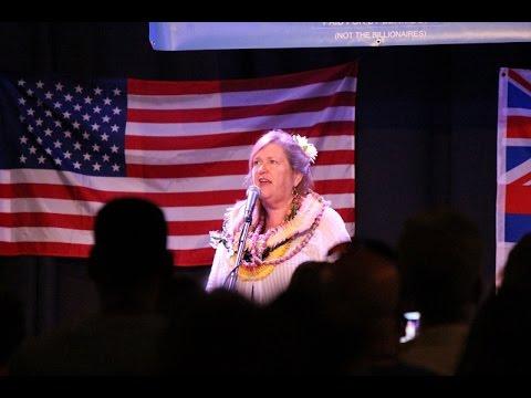 Jane Sanders Visits Maui to Stump for Husband Ahead of Hawaiʻi Caucus