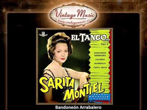 Sara Montiel -- Bandoneón Arrabalero (Tango) (VintageMusic.es)