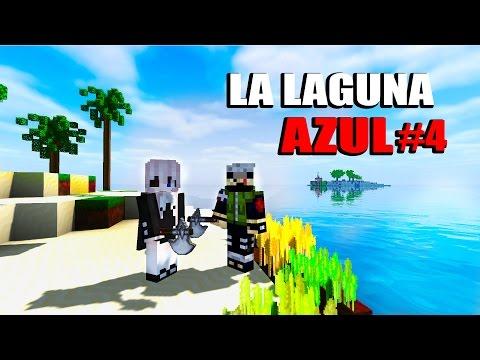LA LAGUNA AZUL #4 DOS PESCADORES EN EL HORIZONTE