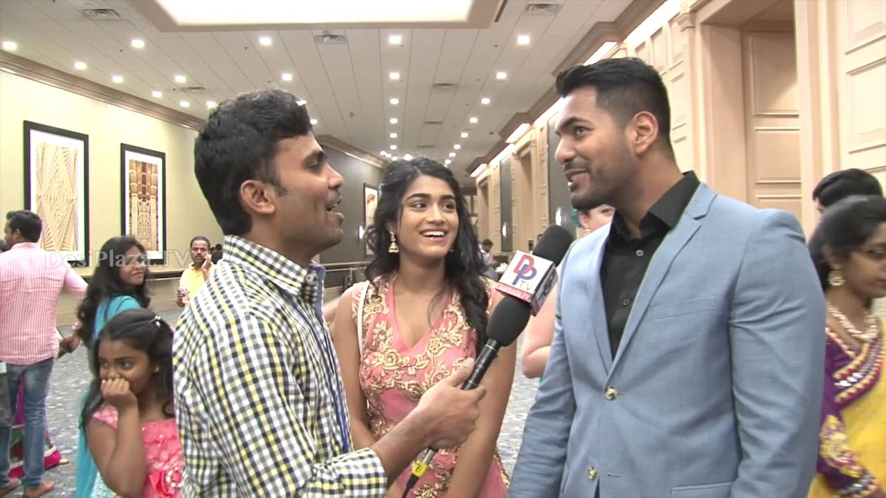 Rashni and Dinesh Reddy  speaking to Desiplaza TV at ATA Convention 2016.