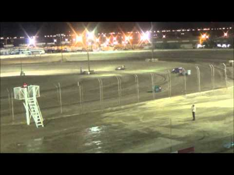 Imperial Valley Speedway Dwarf Car Main Event 3-7-15