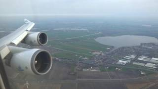 KLM 747-400 - Powerful Evening Takeoff from Amsterdam