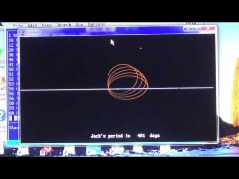 Orbital mechanics or Celestial Mechanics  HD Full screen 720p
