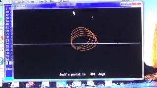 Orbital mechanics or Celestial Mechanics  HD Full screen 720p