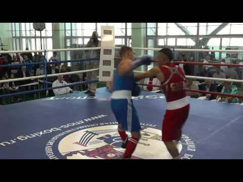 финальные бои Чемпионата Москвы по боксу