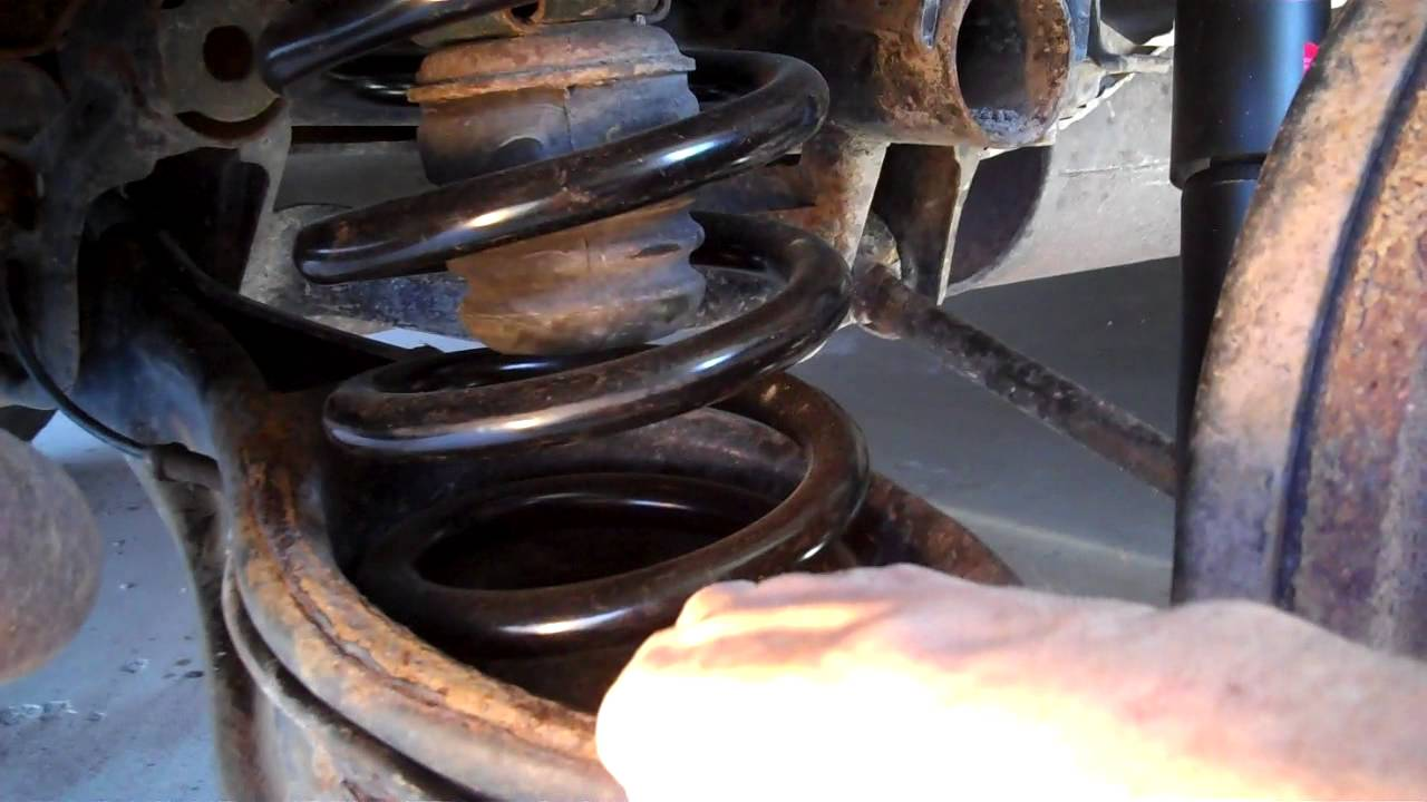 Change rear springs & shocks - YouTube