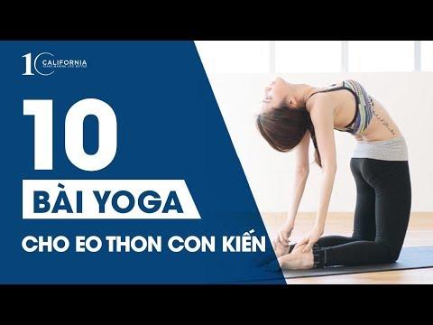 Yoga cho bụng đẹp eo thon