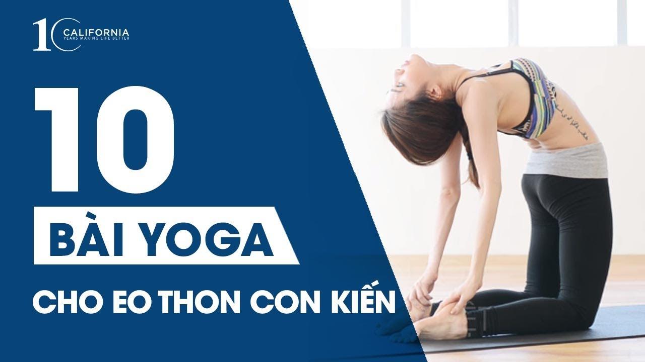 Yoga #4 – Yoga giảm mỡ bụng cho eo thon con kiến | CFYC