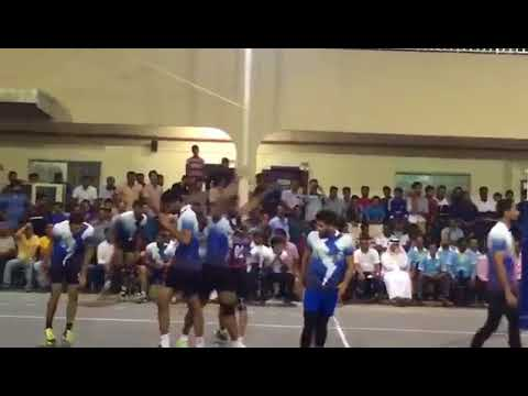 Anup D costa Power full smash in Dubai UAE  International volleyball latest video 2017