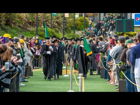 College of Arts, Humanities & Social Sciences - HSU Commencement 2018