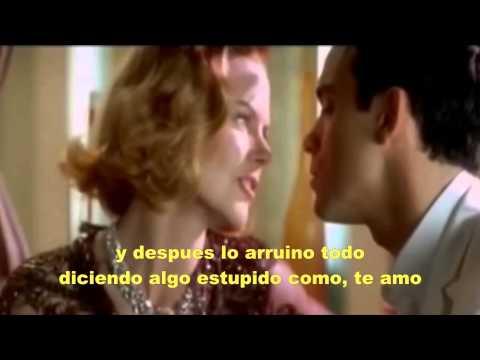 Robbie Williams and Nicole Kidman Smething Stupid subtitulos español