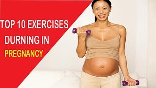 Top 10 Simple and Safe Exercises During Pregnancy At Home