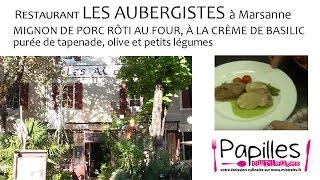 Restaurant Les Aubergistes à Marsanne Papilles Curieuses