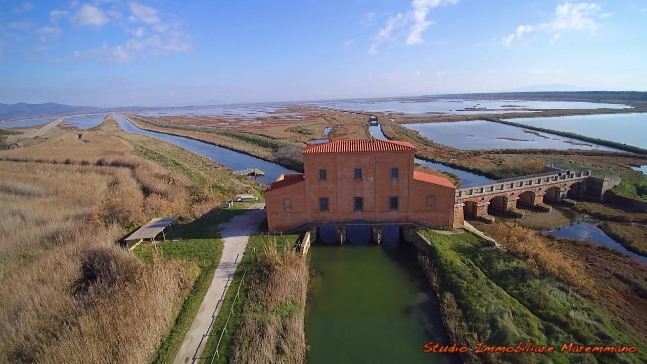 Castiglione della Pescaia Casa Rossa Ximenes e la Diaccia Botrona  YouTube