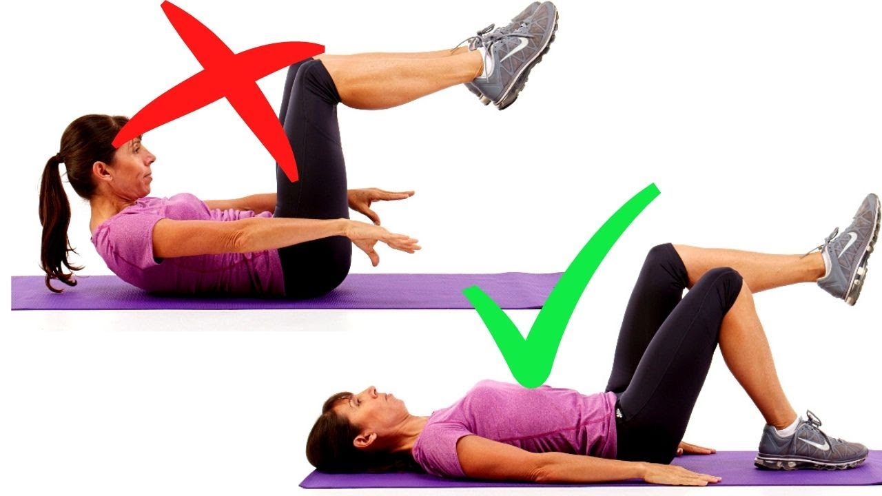 How to modify abdominal exercises for pelvic floor for Floor ab workouts
