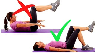How to Modify Your Abdominal Exercises for Pelvic Floor Safe Exercises
