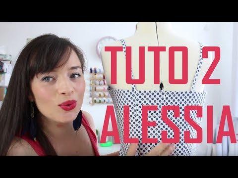 Coudre un zip invisible : tutoriel couture ALESSIA 2