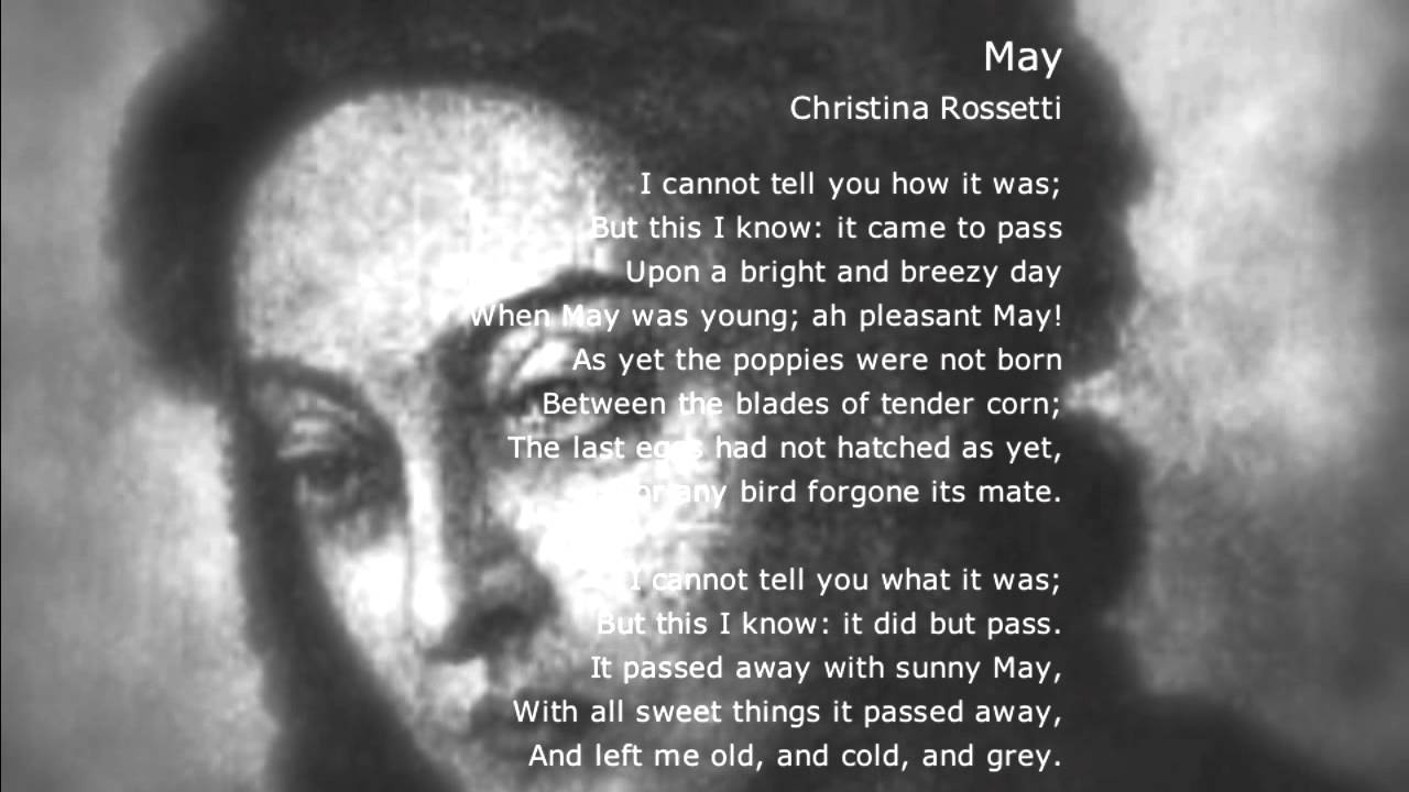 poem a birthday by christina rossetti At home christina rossetti album the poems of christina g rossetti at home lyrics in this poem rossetti hypothetically evaluates the contrast between the sensuous joy of her friends and their way of living a birthday 14 remember.