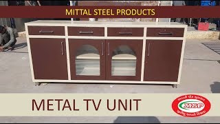 METAL TV CABINET | MITTAL STEEL PRODUCTS