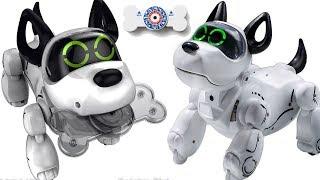 Робот Собака PupBo Silverlit! Игрушки для детей kids children. Игрушка Робот Папбо на русском языке