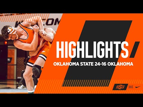 Kings Of Bedlam | Oklahoma State 24-16 Oklahoma | Oklahoma State Wrestling Highlights